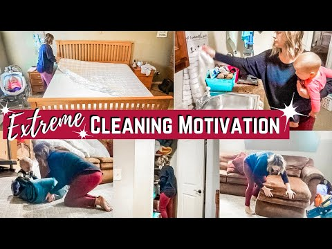 EXTREME CLEANING  MOTIVATION / CLEAN WITH ME 2019 / ULTIMATE SPEED CLEAN