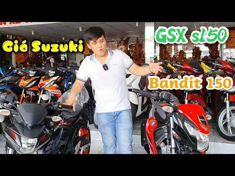 Giá Suzuki GSX s150 cùng Suzuki Bandit 150 hôm nay giảm giá khi xem qua youtube Ngố Nguyễn