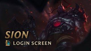 Sion, The Undead Juggernaut - Login Screen