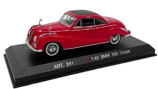 BMW 502 COUPE DETAILCARS REVELL