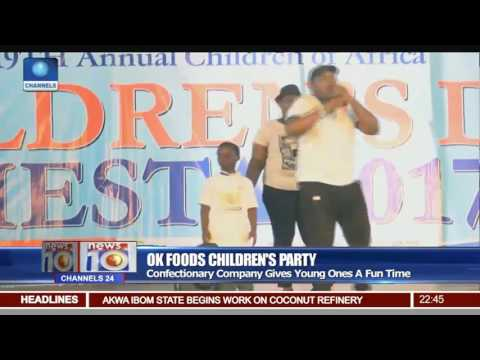 OK Foods Organises Childrens Party In Different Locations Around Lagos