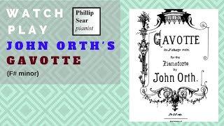john orth: gavotte (f# minor)