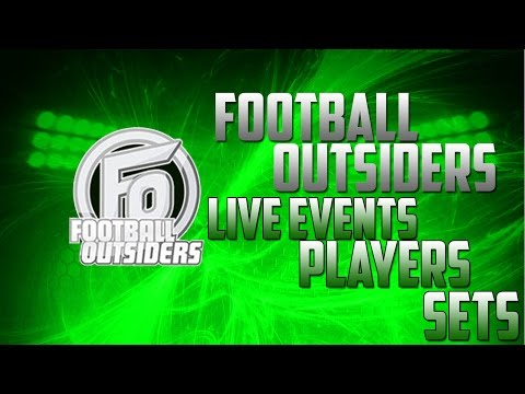 FOOTBALL OUTSIDERS-NEW Players, Live Events and Sets-Madden Mobile 17