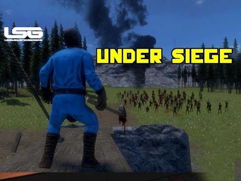 Medieval Engineers - Attack The Castle |