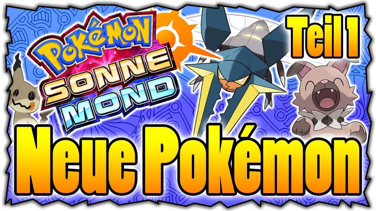 Pokemon Mond Alle Pokemon