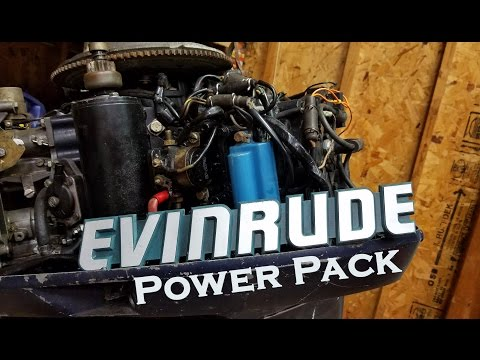 How To Diagnose and Replace A Bad Outboard Power Pack - YouTube  Hp Evinrude Power Pack Wiring Diagram on