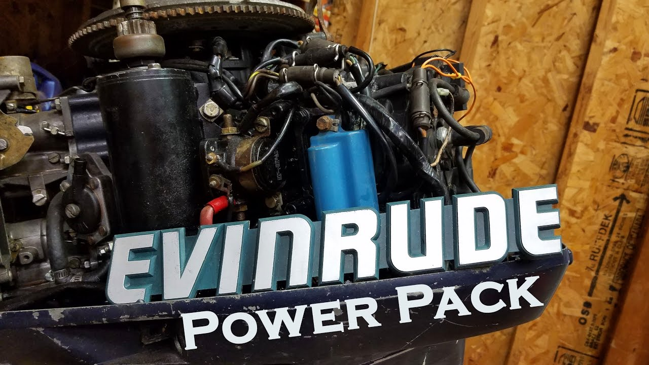 How To Diagnose And Replace A Bad Outboard Power Pack Youtube 35 Hp Johnson Wiring Diagram Evinrude 25 Also