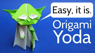 Origami Yoda Easy Tutorial - Star Wars Origami