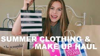 SUMMER CLOTHING & MAKE UP HAUL 2017