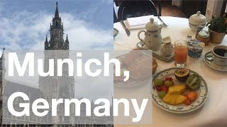 Breakfast at Hotel Uhland in Munich, Germany