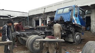 How to make a Hino truck dump piece dubbling and repairing