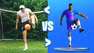 *NEW* KICK UPS EMOTE IN REAL LIFE!!! Fortnite Battle Royale