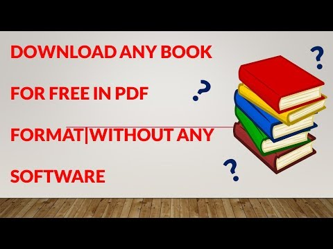 Download any book for free!