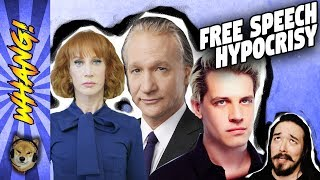 Kathy Griffin, Bill Maher, Milo Yiannopoulos and Free Speech Hypocrisy - Whang!