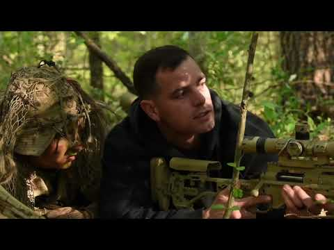 US Marines Scout Sniper Training