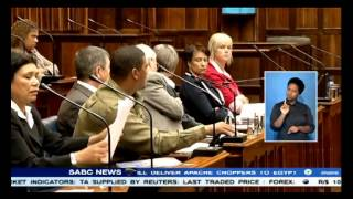 Tempers flared in the W Cape Legislature on Wednesday