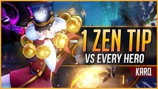 1 ZENYATTA TIP for EVERY HERO | KarQ