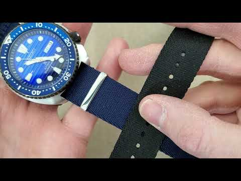 Seiko Turtle SRPC91 On A Variety Of Different NATO Straps.