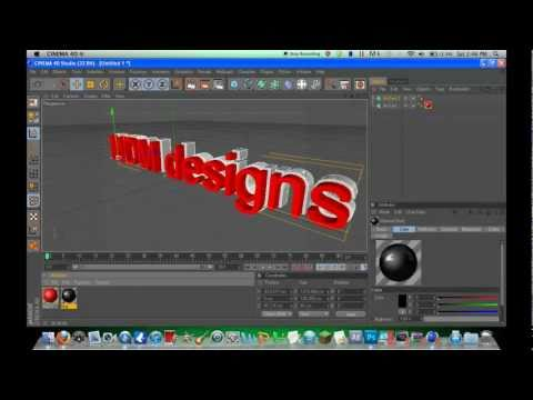 Cinema 4D | Nice Text & PNG Export!