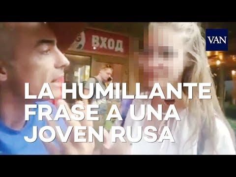 MUNDIAL DE RUSIA 2018   Un argentino humilla a una adolescente rusa