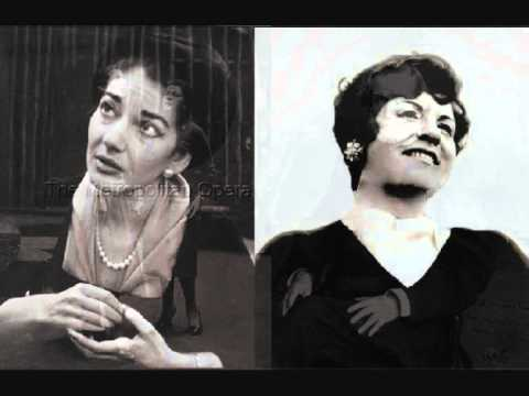 Maria Callas & Fedora Barbieri. Aida. G. Verdi.  Act II Scena I. (II/II)