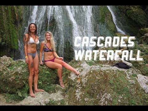 Bikini Babes at Cascades Waterfall, Sailing Nandji Ep 56