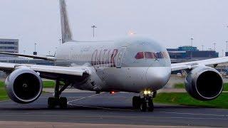 Video CLOSE UP! Qatar Airways Boeing 787-8 Dreamliner Takeoff from Manchester Airport MAN! A7-BCB download MP3, 3GP, MP4, WEBM, AVI, FLV Maret 2018