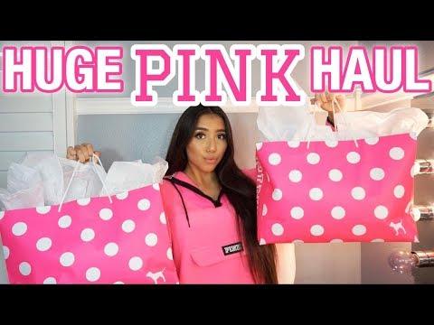 HUGE Victoria's Secret PINK Haul! | Ronni Rae