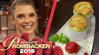 Finale: Evis Soufflé mit selbstgemachtem Eis | Verkostung | Das große Promibacken 2019 | SAT.1 TV