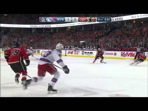 Rangers @ Flames Highlights 12/12/15