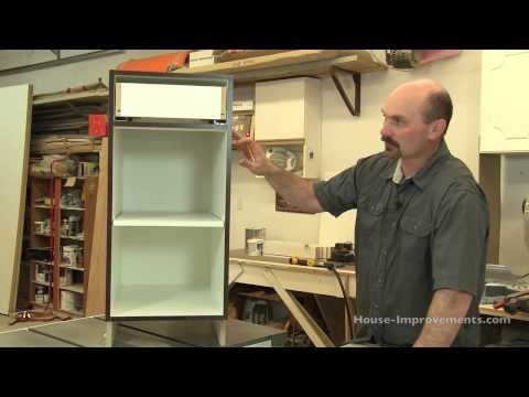 DIY Cabinet Building: Base Cabinet Assembly