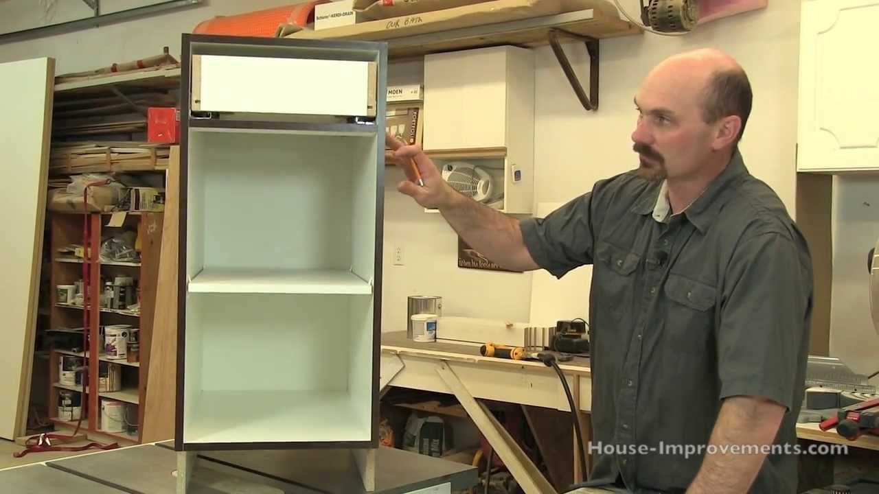 Charmant DIY Cabinet Building: Base Cabinet Assembly
