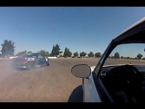 Turbo Miata at Stockton 99 Speedway Boost Drift Series 2013