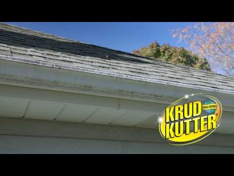 How to Use Krud Kutter Gutter Wash to Clean your Gutters!