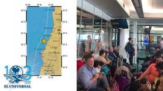 Sismo de magnitud 6.6 grados sacude Chile