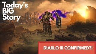Today's BIG Story - Diablo III all but confirmed for Switch