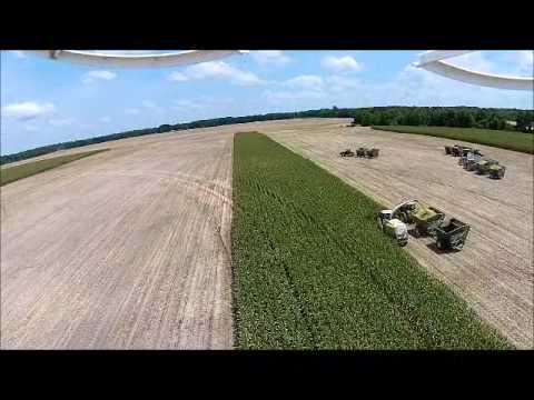 Learning to operate a UAV at Corn Silage Harvest