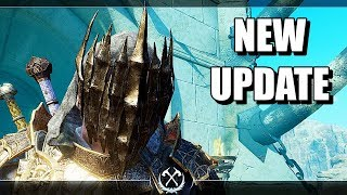 SHADOW OF WAR - NEW UPDATE TALION MAX LEVEL UNIQUE OVERLORD MAX LEVEL IN DESERT