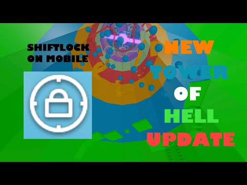 Roblox Tower Of Hell Update Mobile Shiftlock Youtube
