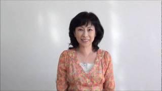 東日本大震災で被災された聴覚障害者の方へ向けて、石井めぐみさん(全...