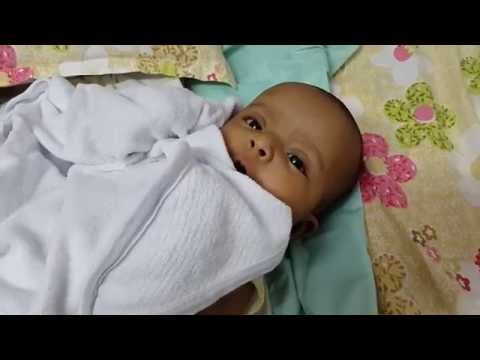 Funny baaby video - 3 month baby singing her song
