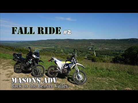Fall Ride #2 Beaver Valley on the KLR and 701 | Masons ADV |