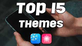TOP 15 iOS 9 THEMES (Anemone & Winterboard)