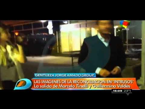 Marcelo Tinelli y Guillermina Valdés se reconciliaron