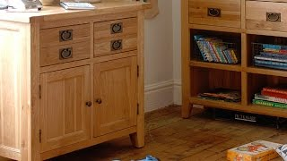 Vancouver Oak Small Sideboard - PineSolutions