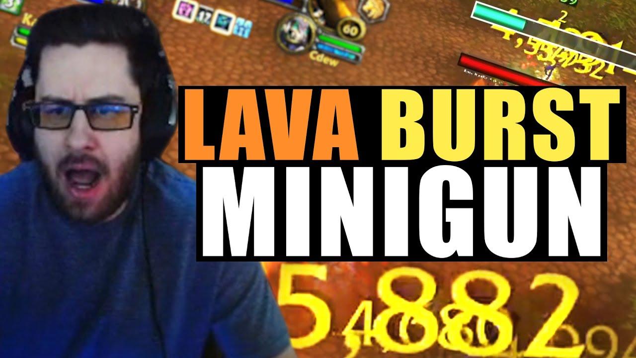 LAVA BURST MINIGUN | Cdew Highlights