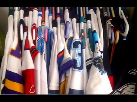 Jersey Collection - 55 JERSEYS