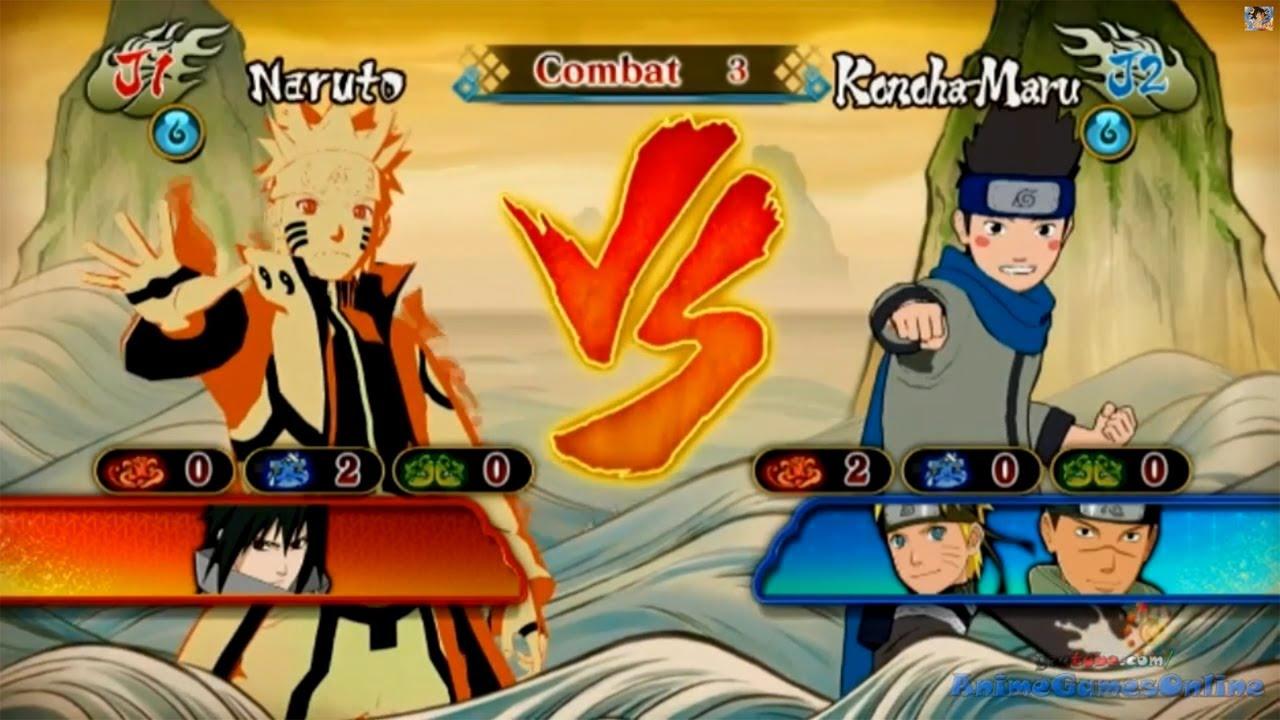 Naruto vs Konohamaru Gameplay Naruto Shippuden Ultimate ...