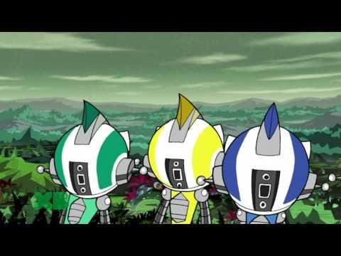 Super Robot Monkey Team Hyper Force Go! 27 Episode The Savage Lands Part 1 FullHD