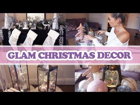 Deko für Weihnachten in Silber Pastell Tönen Decorate for Christmas with me!
